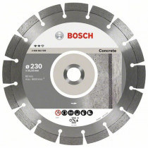 Алм. диск Bosch 180*2,4*22 Expert for Concrete (бетон) сегмент 12мм