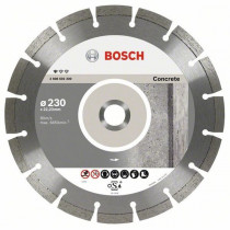 Алм. диск Bosch 115*1,6*22 Prof for Concrete (бетон) сегмент 10мм